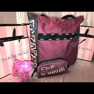 Victoria Secret PINK Tote & Make-Up Bag! ❤️